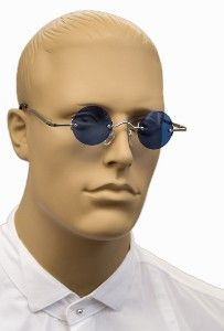 Classic Style Spectacles - Blue Tint