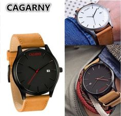 9.12$  Buy now - http://alibz3.shopchina.info/go.php?t=32693601742 - Hot selling men watches top brand luxury military quartz watch casual calendar leather strap wristwatch relogio masculine gold 9.12$ #aliexpressideas