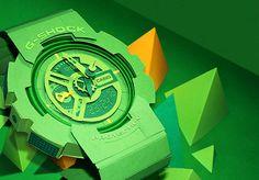 Paper Casio G-Shock GA-110 by Lobulo Design
