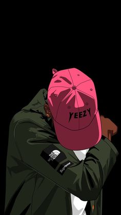 dope, pink, yeezy, dab