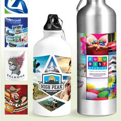 Best Branding offers Eye-popping Digital Printing on Drinkware. Want your brand or message to make an impact and stand out from the crowd?  Just-launched digital branding technology providing exciting new ways to deliver your message in high-impact, photo realistic full-colour, it's mission accomplished.  This new UV printing process provides for the application of a full-colour digital wrap print directly onto drinkware. • Great for printing artwork with vivid colours, multiple tones and… Vivid Colors, Colours, Mission Accomplished, Branded Gifts, Your Message, Corporate Gifts, Water Bottles, Artwork Prints, Drinkware