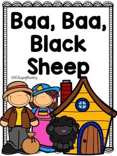Lots of activities to go with the Nursery Rhyme Baa, Baa, Black Sheep. Great for those first days of school before you get into your Reading Program.  Activities for Short Vowels, Letter Recognition, First Sounds and Ending Sounds, Segmenting, Blending, Sequencing, Comprehension, Fluency, and Writing are included.
