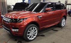 2014 Range Rover Sport Teased on New York Streets. For more, click http://www.autoguide.com/auto-news/2013/03/2014-range-rover-sport-teased-on-new-york-streets.html