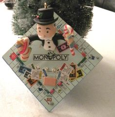 """""""Take a Chance on the Holiday's"""" Monopoly Ornament by Enesco - I have this one."""