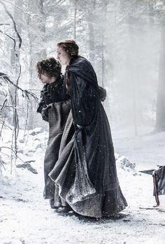 Game of Thrones - S6 - Sansa Stark & Theon Greyjoy