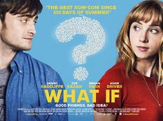 CINEMA SCAPE What If, Starring Daniel Radcliffe  Zoe Kazan, Out August 1, 2014. www.imageamplified.com, Image Amplified