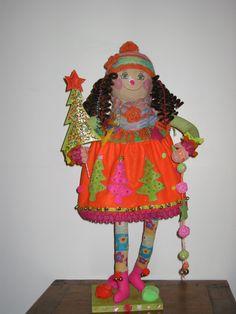 Natalina - Art doll created by Alexandra Graça