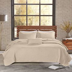 INK+IVY Shelby Coverlet Set