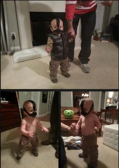 Bane is my favorite. I will have a son and he will have this costume!