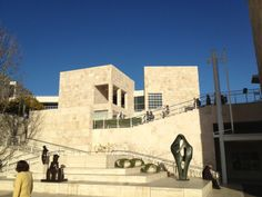 I love The Getty museum in LA, it's the best view of the city. Getty Museum, Travel Bugs, Nice View, Louvre, Good Things, City, Building, Buildings, Cities