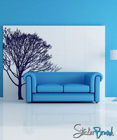 Vinyl Wall Decal Sticker Tree 858s by Stickerbrand on Etsy, $64.95