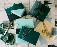 Color block gift wra