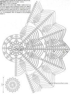 Crochet mandala cushion circles 31 Ideas for 2020 Crochet Doily Diagram, Crochet Doily Patterns, Crochet Mandala, Filet Crochet, Irish Crochet, Crochet Motif, Crochet Stitches, Crochet Squares, Crochet Table Runner