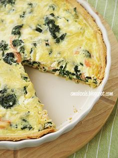 Savory Tart, Cooking Recipes, Healthy Recipes, Fish Recipes, Quiche, Catering, Food And Drink, Dinner, Breakfast