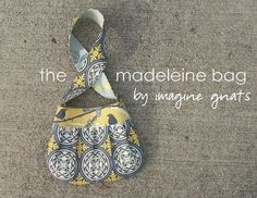the madeleine bag by imaginegnats, via Flickr. Free pattern