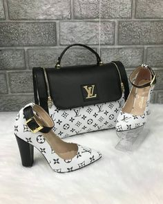 Louis Vuitton 2480 - Çanta, Kalın Topuklu Ayakkabı Kombin