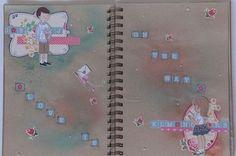 Carol - Art journal page
