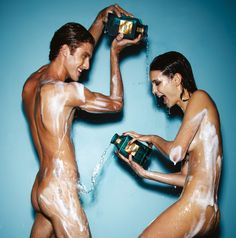 The Tom Ford Neroli Portofino Ad. Of course they're naked. The new Tom Ford Neroli Portofino collection just swept the hell into my life. Perfume Tom Ford, Perfume Ad, Tom Ford Neroli Portofino, Tom Ford Beauty, Sexy, Unisex, Advertising Campaign, Fashion Advertising, Print Advertising