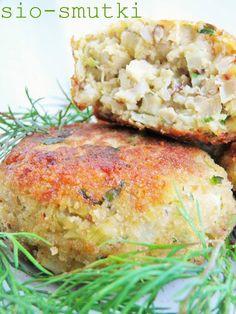 Sio-smutki: Kotlety z kalafiora z pęczakiem i kurczakiem