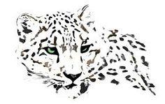 snow leopard by *kurka-designs on deviantART Leopard Tattoos, Snow Leopard Tattoo, Animal Tattoos, Big Cat Tattoo, Les Religions, Tattoo Motive, Poster Design, Tattoo Stencils, Animal Sketches