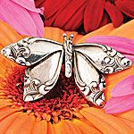 butterfly brooch from spoons
