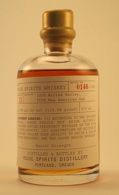House Spirits Whiskey from Portland, OR