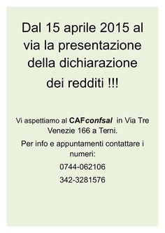#cafconfsal #terni