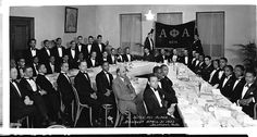 Brothers of Alpha Phi Alpha, Inc. with WEB DuBois