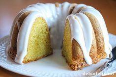 Sitronkake med crème fraîche | Det søte liv Vanilla Cake, Creme, Food And Drink, Sweets, Baking, Desserts, Recipes, Party, Liv