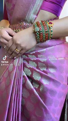 South Indian Wedding Saree, Indian Bridal Sarees, Bridal Silk Saree, Indian Bridal Outfits, Indian Bridal Fashion, Indian Bridal Wear, Indian Beauty Saree, South Indian Sarees, Wedding Saree Blouse Designs