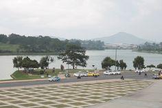 Vistas del lago de Dalat