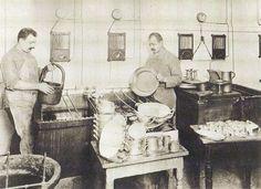 Berlin, Restaurant Kempinski Tellerwäscher, Leipziger Strasse 25, 1910.