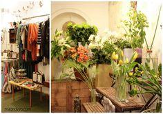 Ad.hoc + Vincapervinca: ropa, complementos y flores. Calle León 11, Madrid.