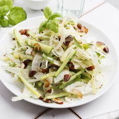 Gurke, Fenchel, Dattel, Basilikum Vegan, Cabbage, Salads, Mandoline, Vegetables, Cooking, Food, Basil, Fresh