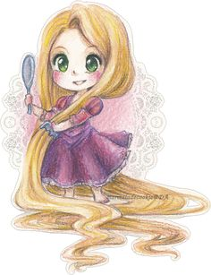Rapunzel by Marmaladecookie on DeviantArt