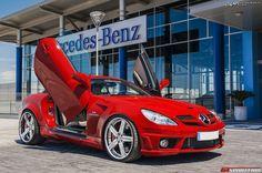 Mercedes-Benz SLK55 AMG by #Kleemann #mbhess #mbcars #mbtuning