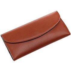 Mantos Eternity Women's Genuine Leather Purse Tri-fold Simple Long Wallet Card Cases Card Wallet, Card Case, Tri Fold, Long Wallet, Leather Purses, Continental Wallet, Wallets, Cases, Simple