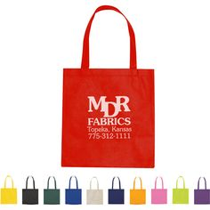 Non-Woven Promotional Tote Bag | Personalized Tote Bags | 0.76 Ea.