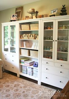 ikea wall units- for the playroom...
