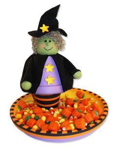 Witch Candy Plate
