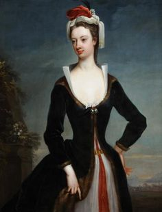 """Lady Mary Wortley Montagu"", Jonathan Richardson the elder, 1718; Museums Sheffield"