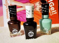 sarinacosmetics: Sally Hansen Miracle GEL, czyli żelowy manicure be...