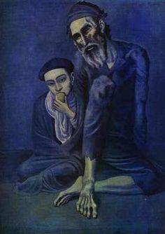 Mendiant et enfant, par Pablo Picasso
