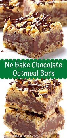 Easy Desserts, Delicious Desserts, Baking Dessert Recipes, Bar Cookie Recipes, Non Bake Desserts, Bar Recipes, Gluten Free Desserts, Health Desserts, Kitchen Recipes