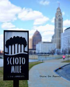 Downtown Columbus OH Scioto Mile