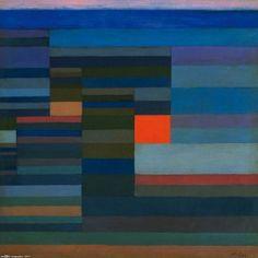 Feuer Abends Paul Klee 1929
