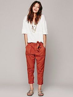 Free People Day to Night Tencel Pant
