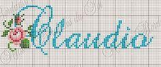 Artes e bordados da Sol: Nomes que fiz com Letra C