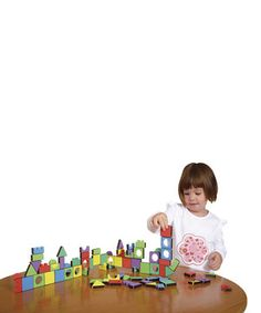 Another great find on #zulily! Magic magnetic  Shapes - Set of 81 by Edushape #zulilyfinds $15