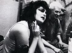 Siouxsie Sioux & Steven Severin (via morganaspikes and dubstepcholla)